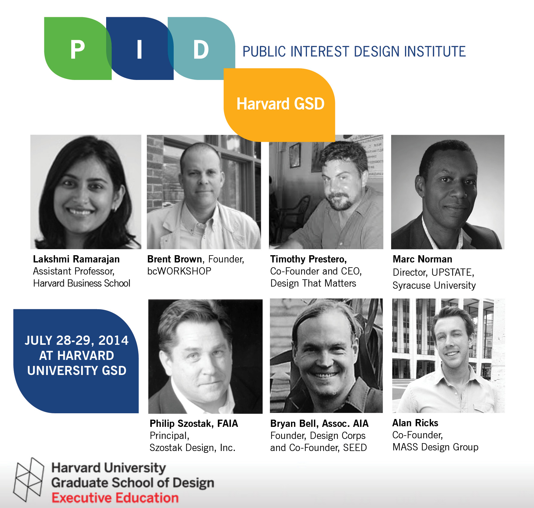 Harvard GSD 2014 Speakers 2